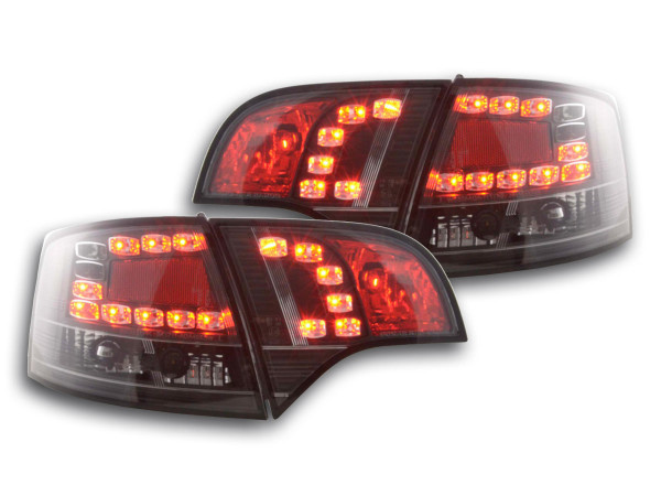 Led Taillights Audi A4 Avant type 8E Yr. 04-08 black