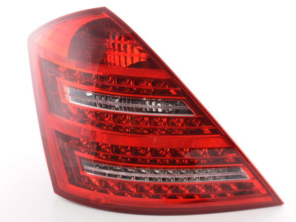 Led Taillights Mercedes S-Class 221 Yr. 05-09 red/clear