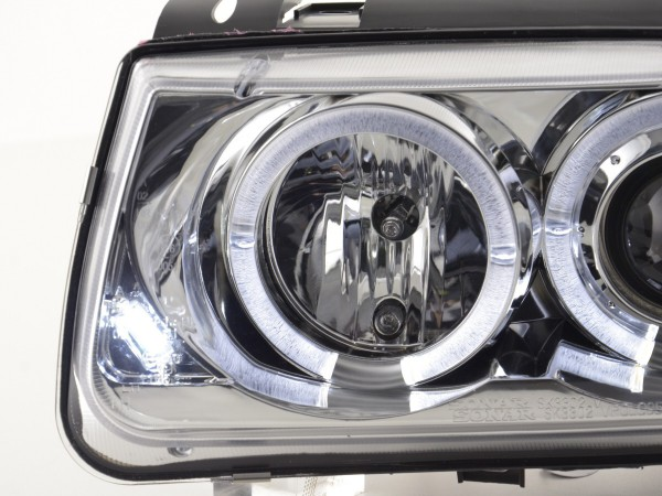 headlight VW Polo type 6N Yr. 94-99 chrome