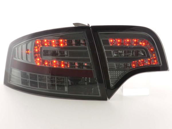 Led Taillights Audi A4 saloon type 8E Yr. 04-07 black
