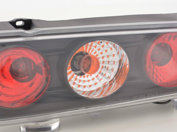 Taillights Fiat Seicento type 187 Yr. 98-07 black