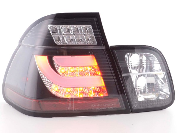 Led Rear lights BMW serie 3 E46 saloon Yr. 98-01 black