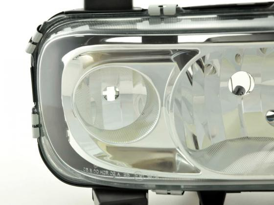 Spare parts headlight right Mercedes Benz Atego Yr. 04-