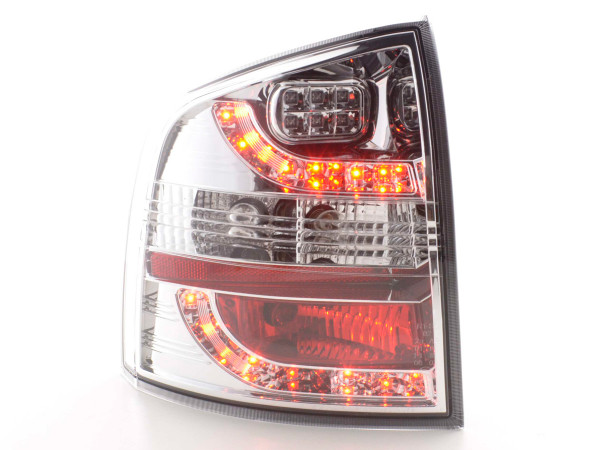 Led Taillights Skoda Octavia Combi type 1Z Yr. 05- chrome