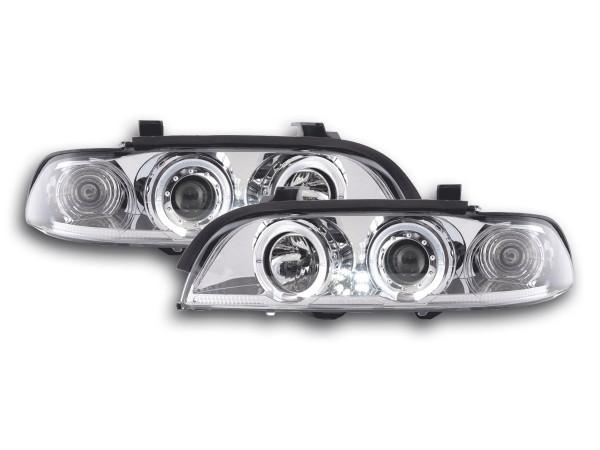 headlight BMW serie 5 type E39 Yr. 95-00 chrome