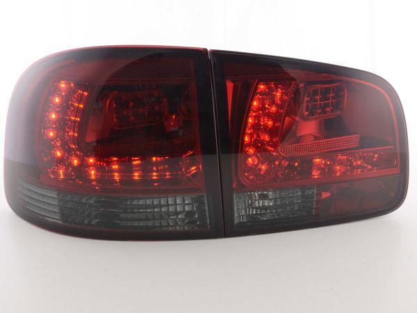 Led Taillights VW Touareg type 7L Yr. 03-09 red/black