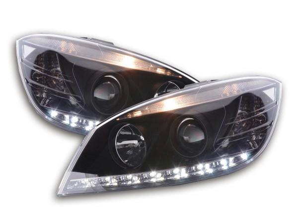 Daylight headlight Mercedes C-Classe type W204 Yr. 07-10 black