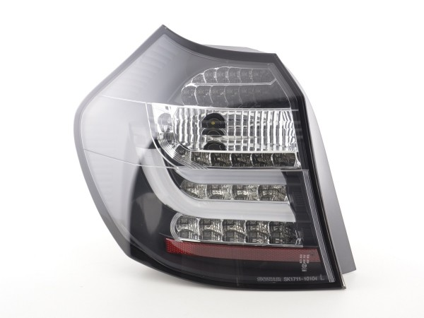 Led Taillights BMW serie 1 E87/E81 3/5-Dr. Yr. 07-11 black
