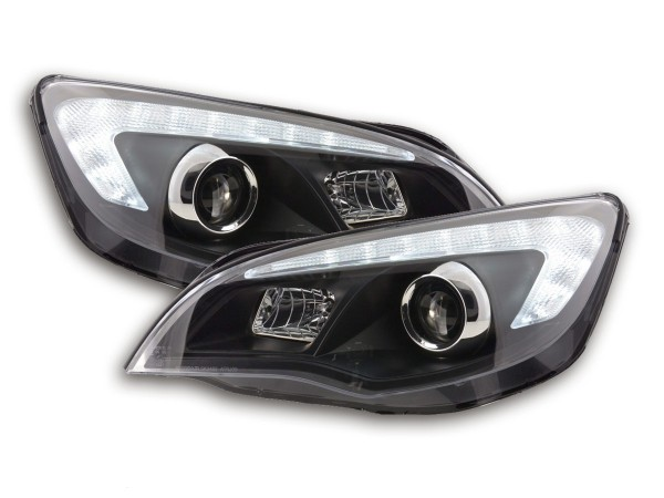Headlight Opel Astra J 5-door Yr. 2009-2012 black without motor