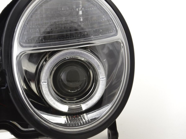 headlight Mercedes E-Class type W210 Yr. 97-01 chrome