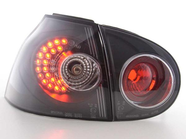 Led Taillights VW Golf 5 type 1K Yr. 2003-2008 black