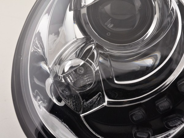 Daylight Headlight VW New Beetle 9C Yr. 98-05 chrome