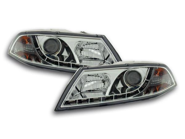 Daylight headlight Skoda Octavia type 1Z Yr. 04-08 chrome