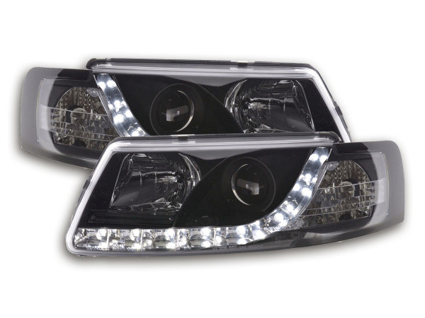 Daylight headlight VW Passat type 3B Yr. 97-00 black