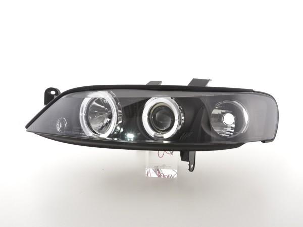 headlight Opel Vectra B Yr: 99-02 black