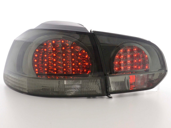 Led Rear lights VW Golf 6 type 1K Yr. 08- black