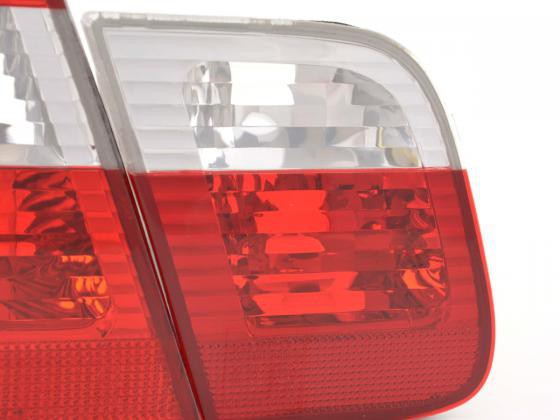 Taillights BMW serie 3 saloon type E46 Yr. 01-05 white red