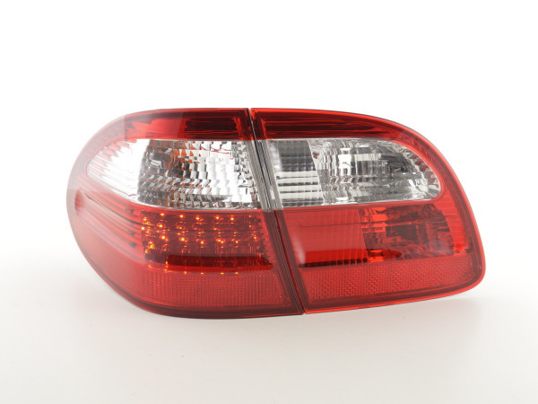 Taillights LED Mercedes E-Class Combi (210) Yr. 99-03 red/clear