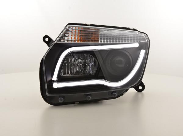Daylight Headlight Dacia Duster Yr. 10-13 black