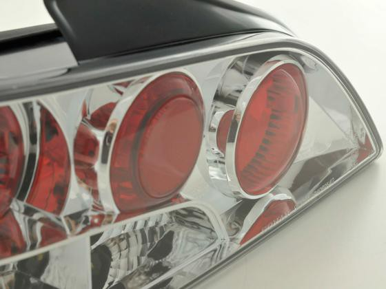Taillights Peugeot 406 4-dr. type 8*** Yr. 95-98 blackchrome