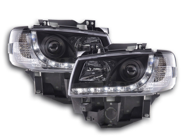 Daylight headlight VW Bus type T4 Yr. 96-03 black