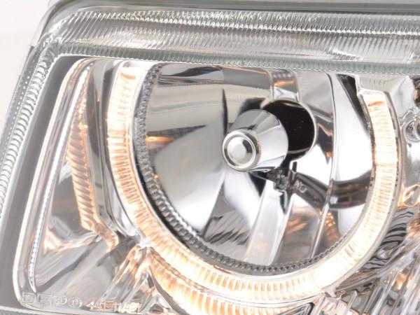 headlight Angel Eyes VW Passat 35i chrome