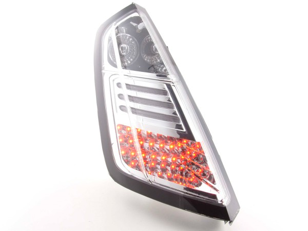 Led Taillights Fiat Grande Punto type 199 Yr. 05- chrome
