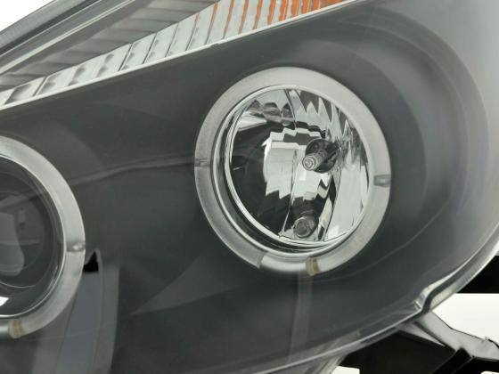 headlight Renault Clio type R Yr. 05- black