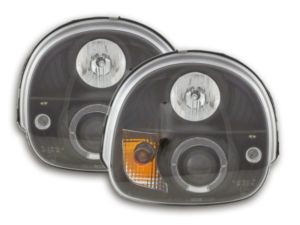 headlight Renault Twingo Yr. 93-00 black