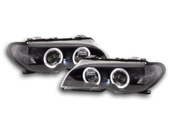 headlight BMW serie 3 E46 Coupe/Cabrio Yr. 03-05 Xenon black
