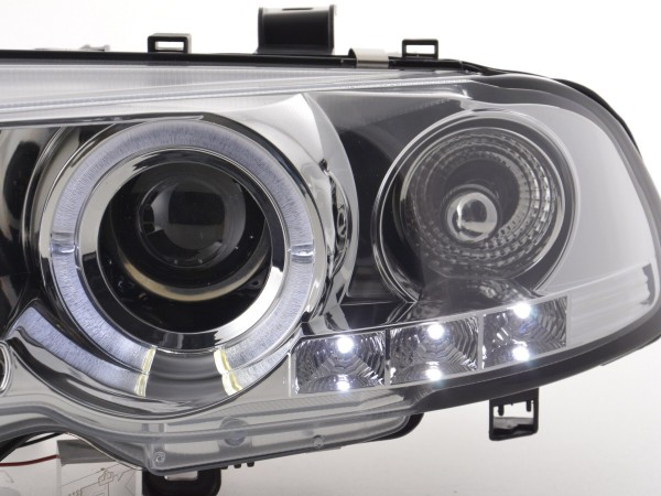 headlight BMW serie 3 E46 Coupe/Cabrio Yr. 98-02 chrome