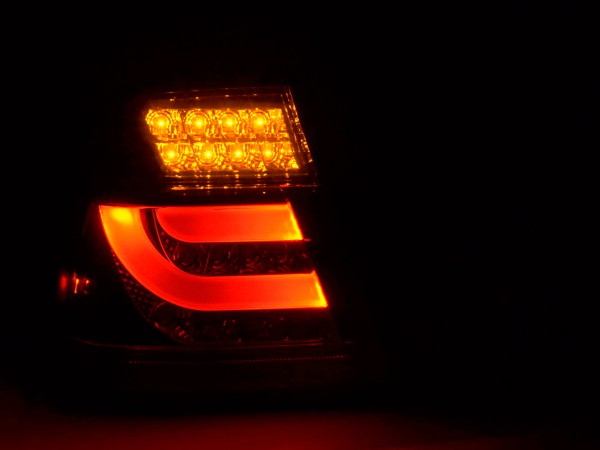 Led Taillights BMW serie 3 E46 saloon Yr. 98-01 black