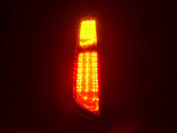 Led Rear lights Ford Focus 2 5-door Yr. 04-08 red/clear