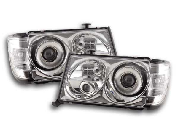 headlight Mercedes E-Classe type W124 Yr. 85-93 chrome