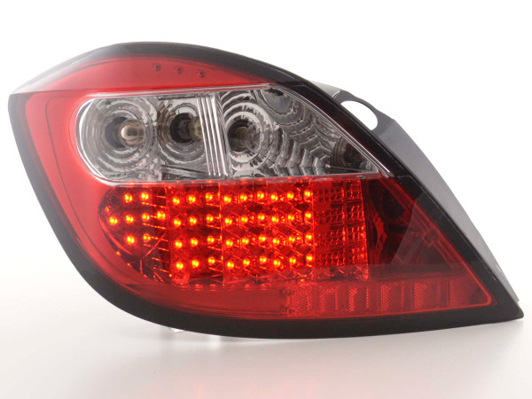 Led Taillights Opel Astra H 5-dr Yr. 04- clear/red