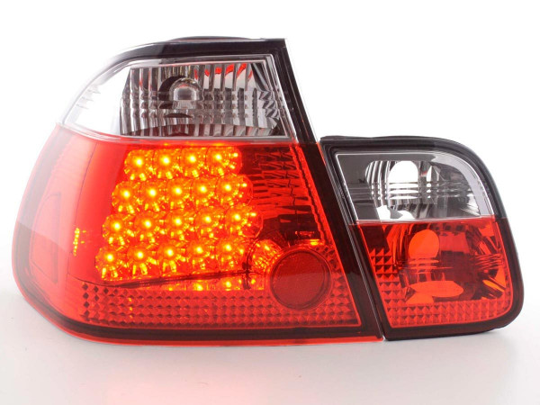 Led Taillights BMW serie 3 saloon type E46 Yr. 01-05 clear/red