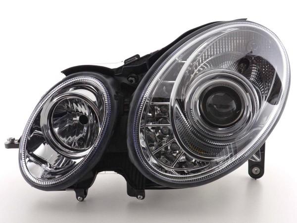 Daylight headlight Mercedes E-Classe 211 Yr. 02-06 chrome