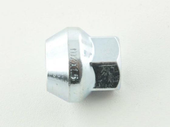 Wheel nut M14 x 1.5 23mm Taper silver