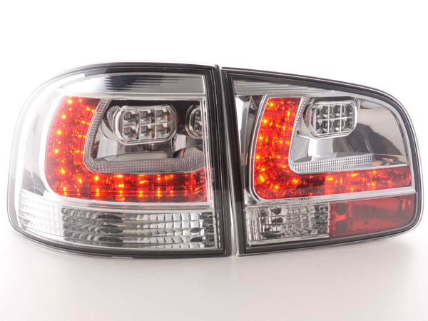 Led Taillights VW Touareg type 7L Yr. 03-09 chrome