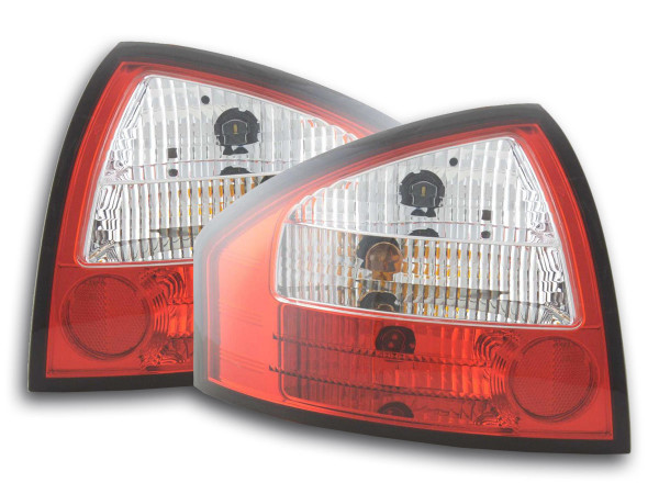 Taillights Audi A6 saloon type 4B Yr. 97-03 red white