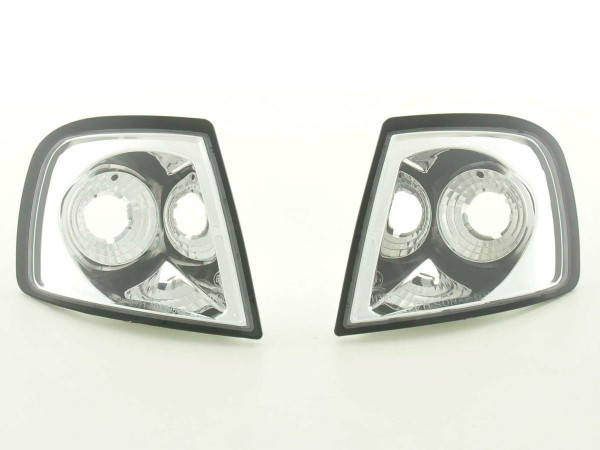 Front indicator Set Audi A3 Typ 8L Yr. 96-00 chrome
