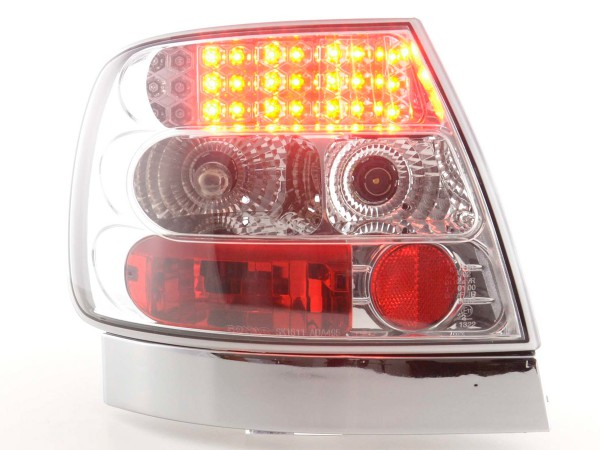 Led Taillights Audi A4 saloon type B5 Yr. 95-00 chrome
