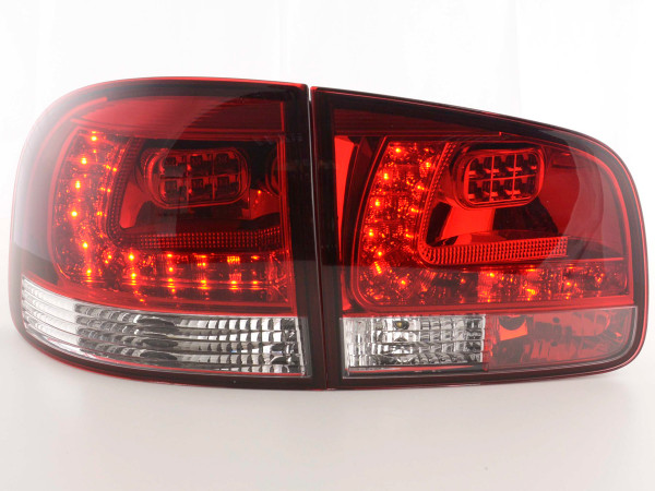 Led Taillights VW Touareg type 7L Yr. 03-09 red/clear