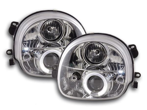 headlight Renault Twingo Yr. 93-00 chrome
