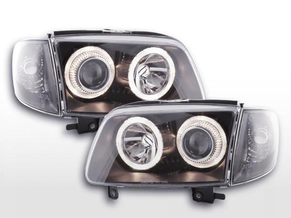 Angel Eye headlight VW Polo type 6N2 Yr. 99-01 black