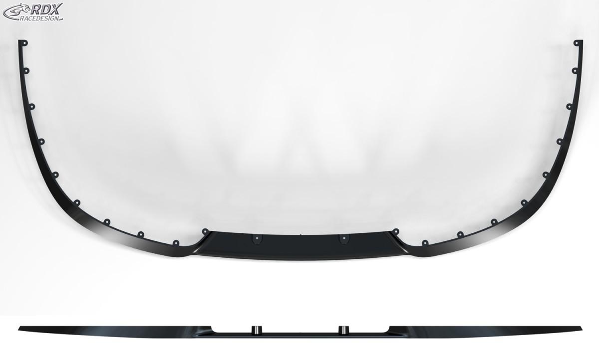 2012 Front Lip Splitter RDX Front Spoiler VARIO-X Megane 3 Sedan Grandtour