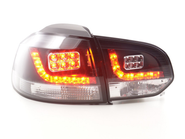 Led Taillights VW Golf 6 type 1K Yr. 2008-2012 black