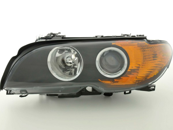 Spare parts headlight left BMW serie 3 E46 Coupe Yr. 03-06, black