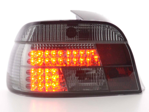 Led Taillights BMW serie 5 saloon type E39 Yr. 95-00 black