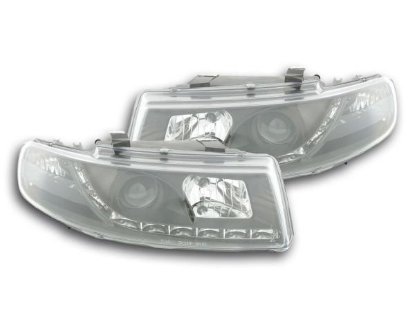 Daylight headlight Seat Leon type 1M Yr. 99-05 black